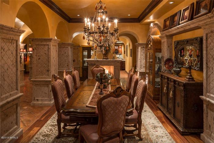 $5.5 Million Mediterranean European Villa in Paradise Valley Arizona 7