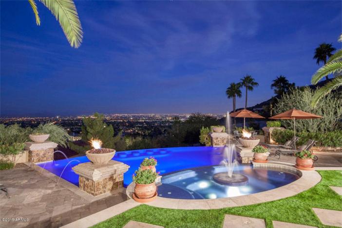 $5.5 Million Mediterranean European Villa in Paradise Valley Arizona 8