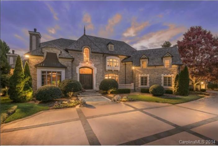 $5.9 Million Elegant Manor in Charlotte North Carolina
