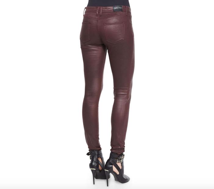 Burberry Brit  Wax Skinny Jeans 2
