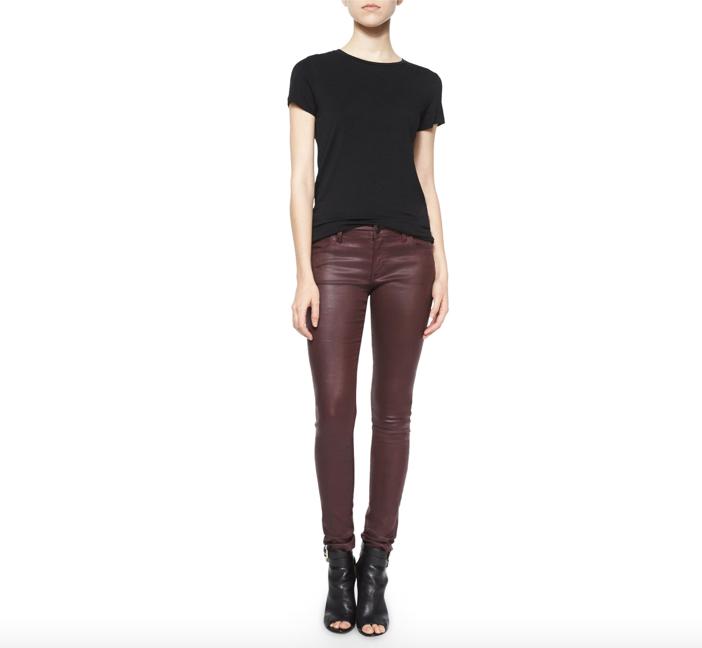 Burberry Brit  Wax Skinny Jeans 4