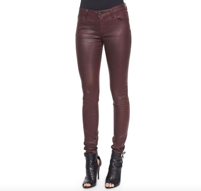 Burberry Brit  Wax Skinny Jeans