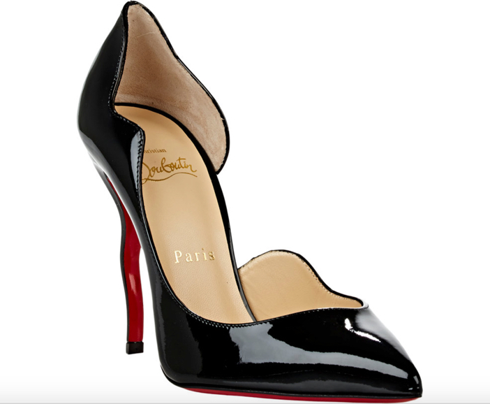 d182bf2e5e5 Shoe of the Day: Christian Louboutin Dalida Half d'Orsay Pumps