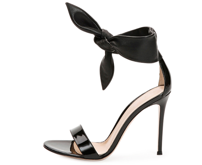 Gianvito Rossi  Knot-Front Double-Band Sandal 2