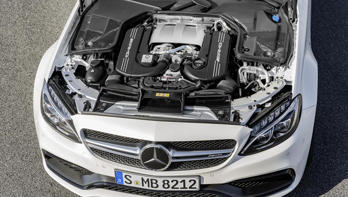 MERCEDES-AMG-C63-Coupe-Engine-Bay
