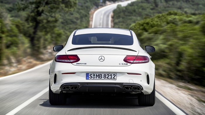 MERCEDES-AMG-C63-Coupe-Rear
