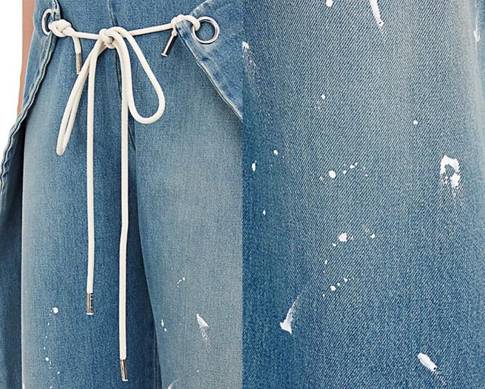 MM6 MAISON MARGIELA Foldover Jeans 3