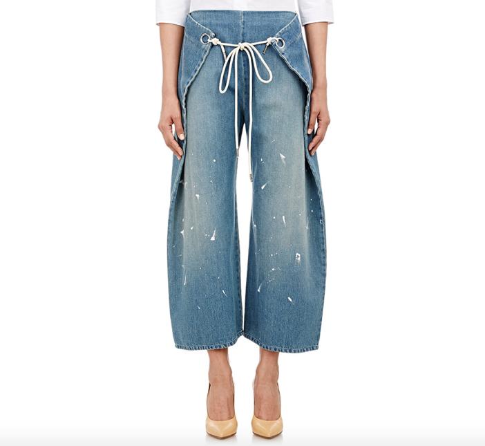 MM6 MAISON MARGIELA Foldover Jeans 4