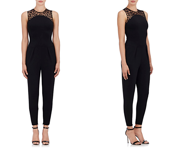 STELLA MCCARTNEY Compact Jersey Jumpsuit 4