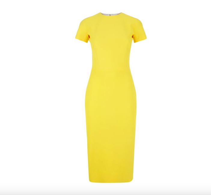 Victoria Beckham T-Shirt Fit Pencil Dress 2