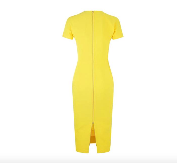 Victoria Beckham T-Shirt Fit Pencil Dress 3