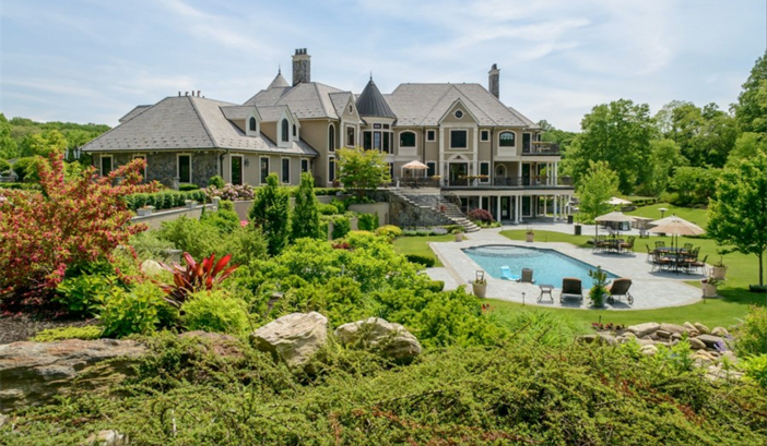 $14.5 Million Hilltop Colonial Mansion in New York 13