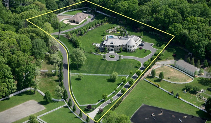 $14.5 Million Hilltop Colonial Mansion in New York 2