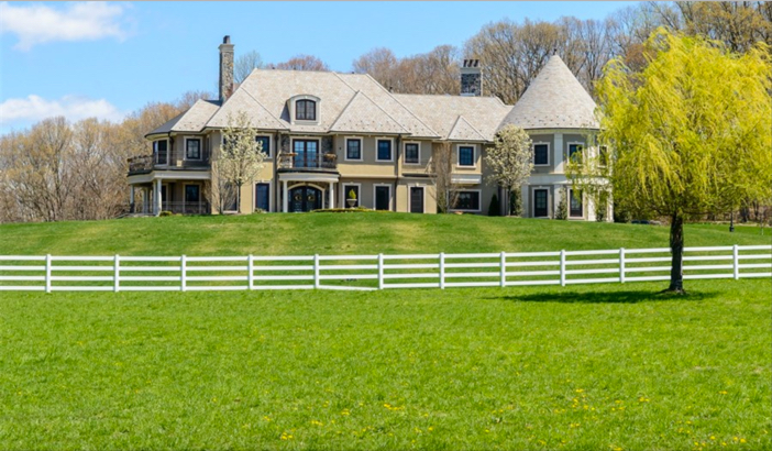 $14.5 Million Hilltop Colonial Mansion in New York 4