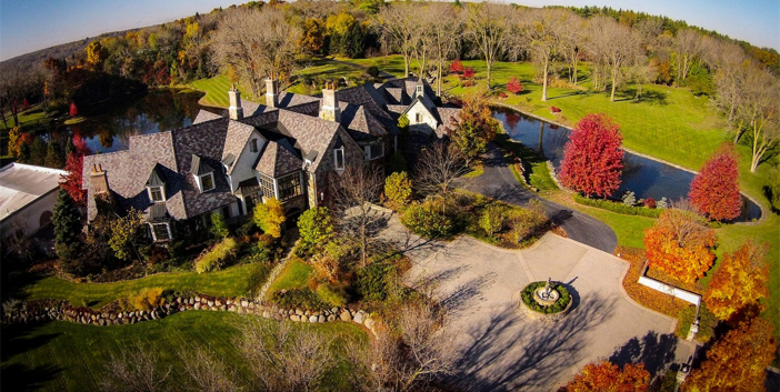 $18.7 Million Hidden Ponds Estate in Barrington Hills Illinois 25