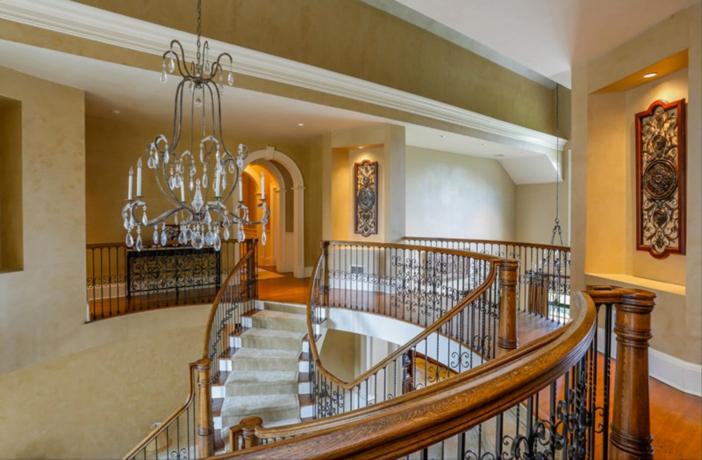 $19.9 Million Georgian Stone Mansion in New York 11