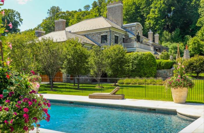 $19.9 Million Georgian Stone Mansion in New York 22