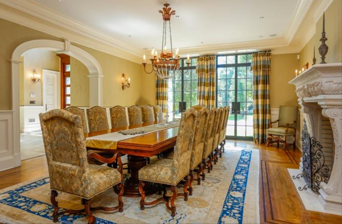 $19.9 Million Georgian Stone Mansion in New York 7