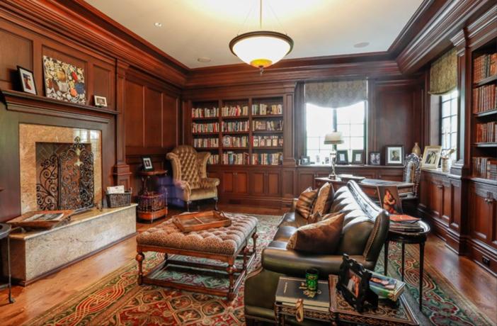 $19.9 Million Georgian Stone Mansion in New York 9