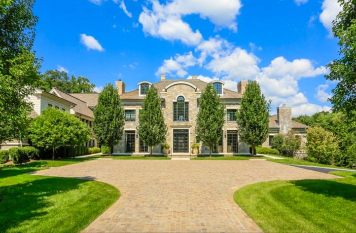 $19.9 Million Georgian Stone Mansion in New York