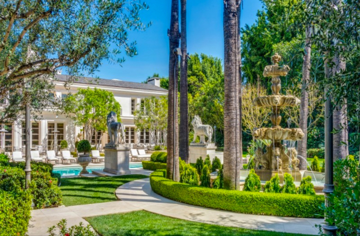$39.5 Million Elegant Mansion in Beverly Hills California 10