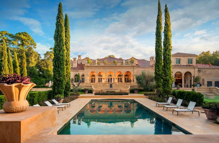 $43 Million Neoclassical Mansion in Houston Texas