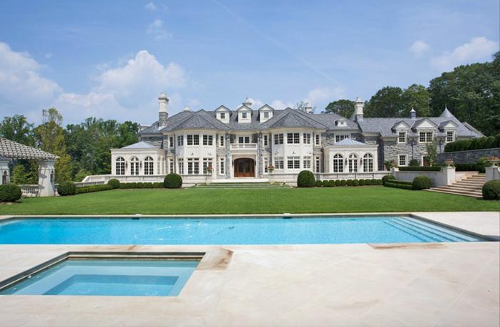$48 Million Stone Mansion in Alpine New Jersey 11