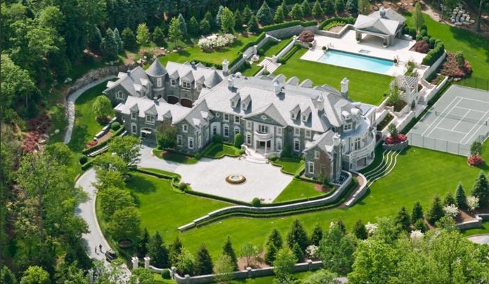 $48 Million Stone Mansion in Alpine New Jersey 12