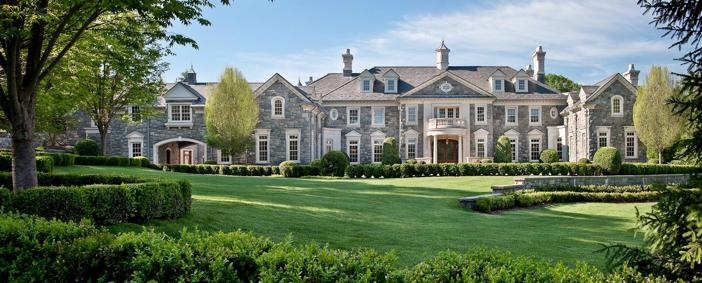 $48 Million Stone Mansion in Alpine New Jersey