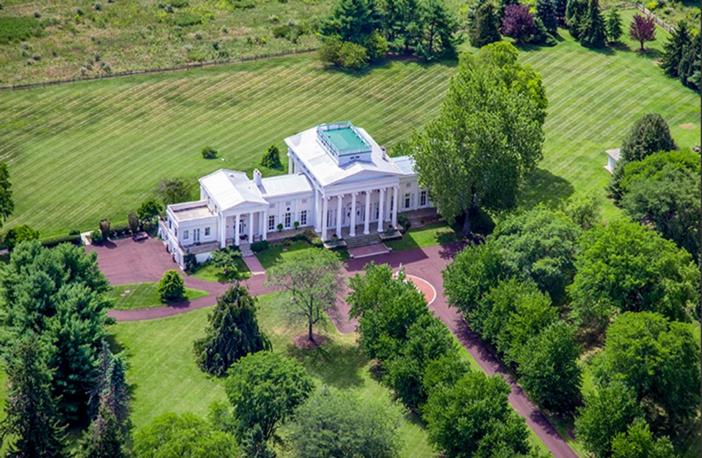 $6.9 Million Historic Vaux Hill Mansion in Pennsylvania 3