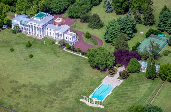 $6.9 Million Historic Vaux Hill Mansion in Pennsylvania 4