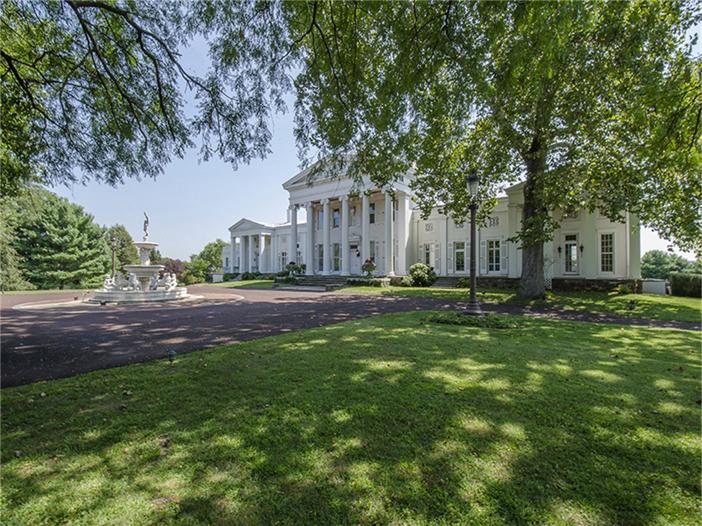 $6.9 Million Historic Vaux Hill Mansion in Pennsylvania