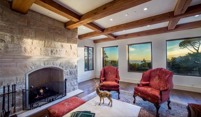 $9.9 Million European Style Ocean Villa in Pebble Beach California 18