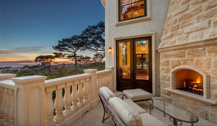 $9.9 Million European Style Ocean Villa in Pebble Beach California 2