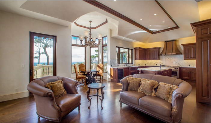 $9.9 Million European Style Ocean Villa in Pebble Beach California 21