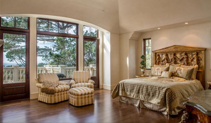 $9.9 Million European Style Ocean Villa in Pebble Beach California 22