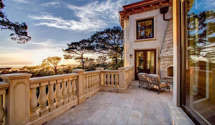 $9.9 Million European Style Ocean Villa in Pebble Beach California 3