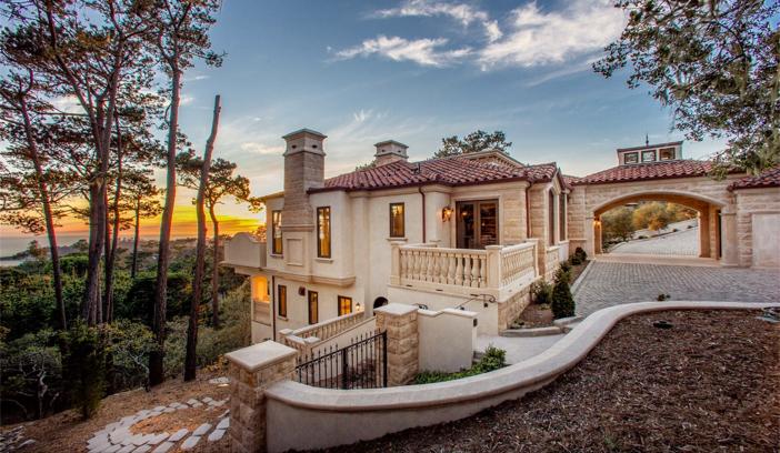 $9.9 Million European Style Ocean Villa in Pebble Beach California 5