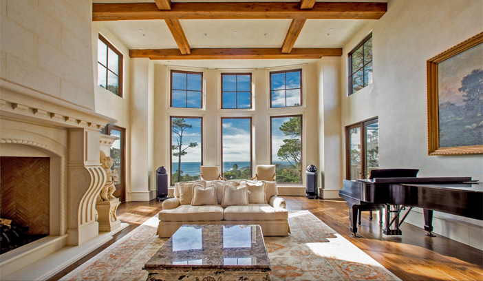 $9.9 Million European Style Ocean Villa in Pebble Beach California 7
