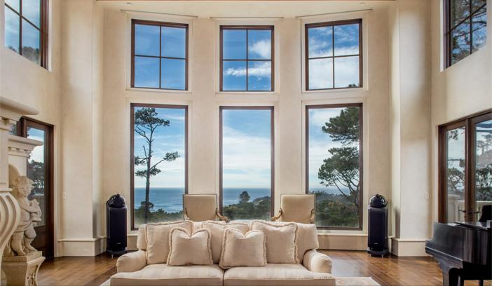$9.9 Million European Style Ocean Villa in Pebble Beach California 8