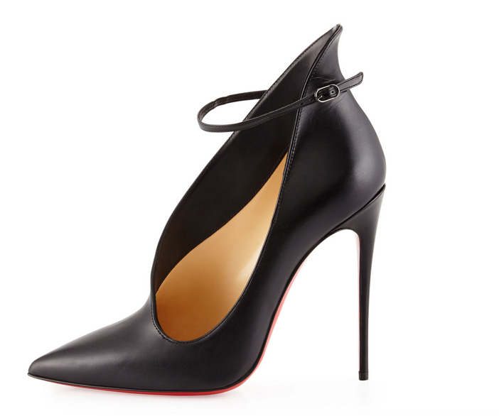 Christian Louboutin Vampydoly Asymmetric Red Sole Pump 3