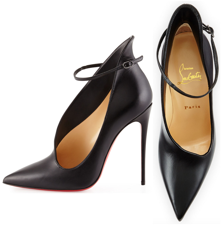 Christian Louboutin Vampydoly Asymmetric Red Sole Pump