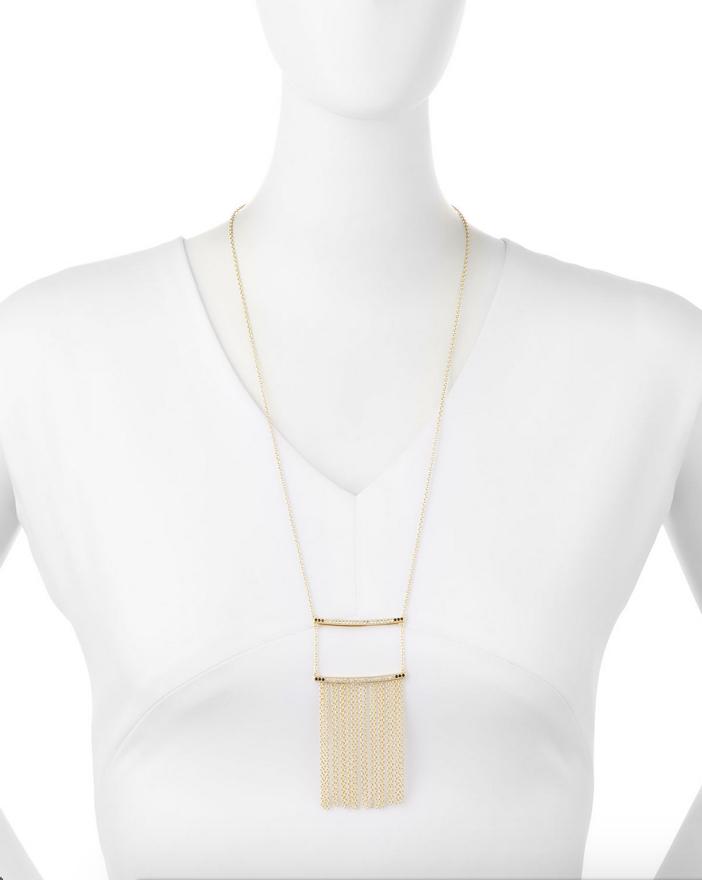 Elizabeth and James Ollie Vago Chain Fringe Necklace 2