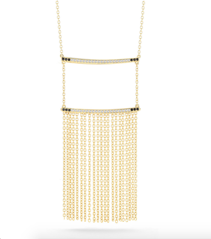 Elizabeth and James Ollie Vago Chain Fringe Necklace