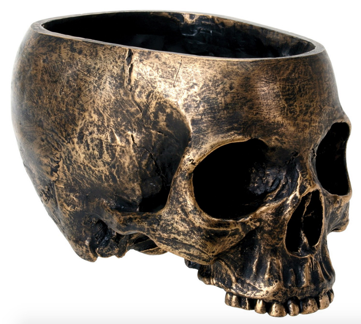 Halloween Skull Bowl