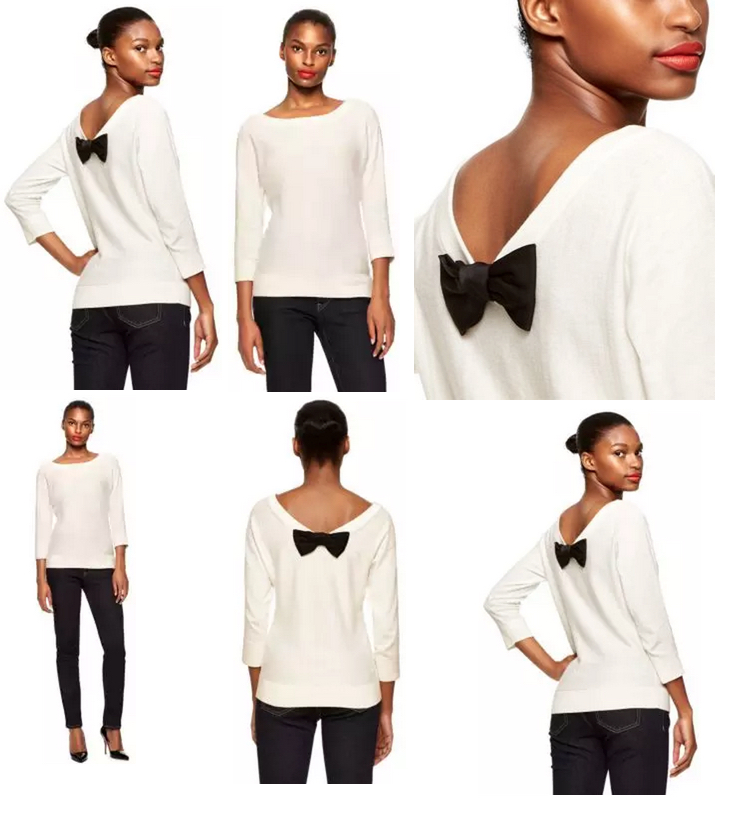 Kate Spade New York Bow Back Sweater