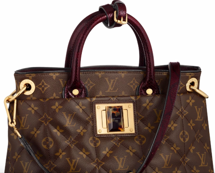 Louis Vuitton Exotic Monogrammed Tote MM 2