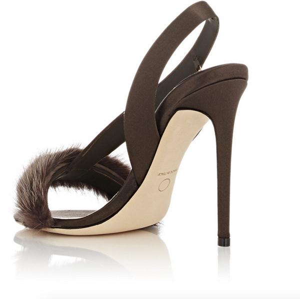 Olgana L'Amazone Asymmetric Slingback Sandals 3