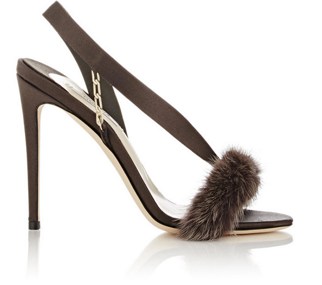 Olgana L'Amazone Asymmetric Slingback Sandals 5