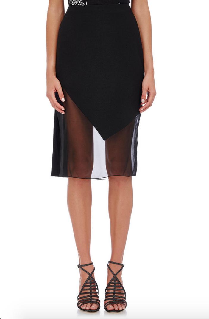 Prabal Gurung Textured Combo Skirt 2